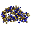 sapphire blue chatons, 02029, rhinestones, rich sapphire, blue chatons, rhinestone, chaton, SS8, PP17, chatons, Bsue Boutiques, pointed back, point back rhinestones, jewelry supplies 2.3 - 2.4mm, Czech, Preciosa