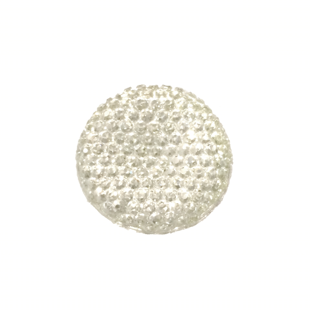 flatback stones, pave rhinestone top, round, 0244, crystal rhinestones, silver foil flatback, jewelry making supplies, vintage jewelry supplies, US made jewelry supplies, b'sue boutiques,