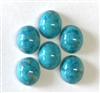 turquoise matrix stone, stone, flat back, oval, 10x8mm, cabochon, flat back stone, turquoise, buff top, blue, aqua, green, plastic, B'sue Boutiques, jewelry findings, vintage supplies, jewelry supplies, jewelry making, Italy, stone jewelry, 02452