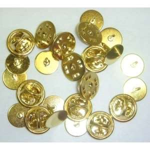 Goldplated Tack Pin with Back