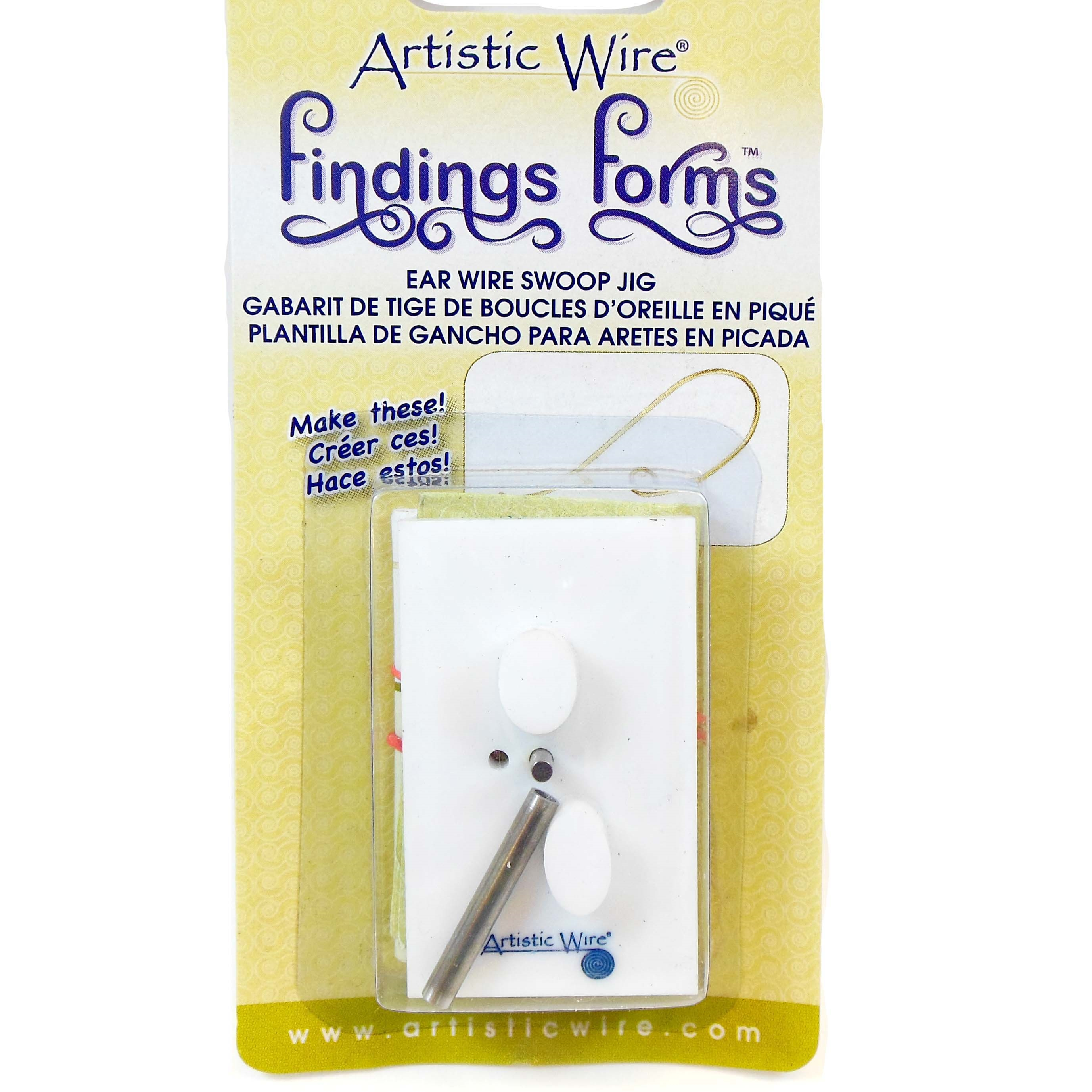 ear wire jig, wire bender, 20-22 gauge, jewelry making supplies, jewelry tools, earring tools, 03673