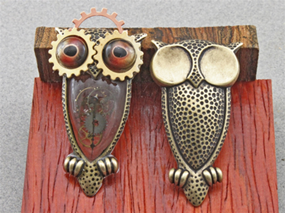 Steampunk Owl Project By Harry W Wood