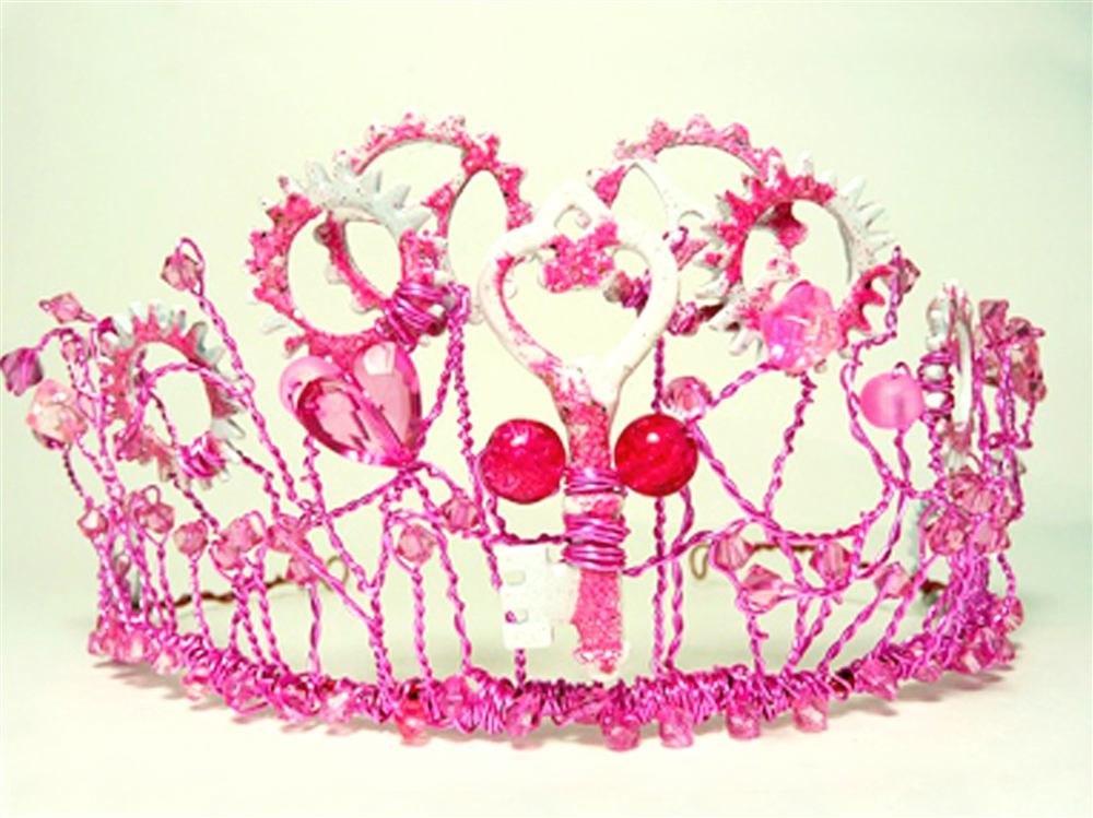 SteamPINK Tiara - Steampunk with a Pink Twist! By Linzi Alford