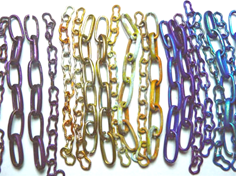 Patina A Rainbow: Colorizing Chain By Linzi Alford