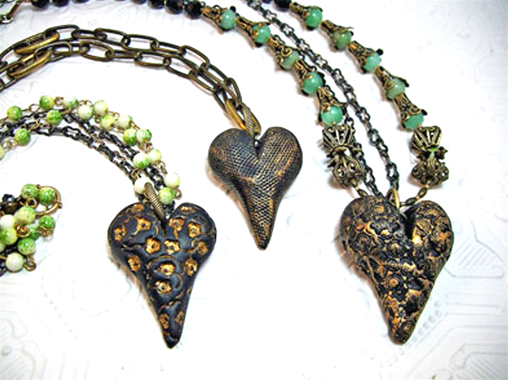 The Easiest, Peasiest Rustic Heart Pendant By Laurel Steven