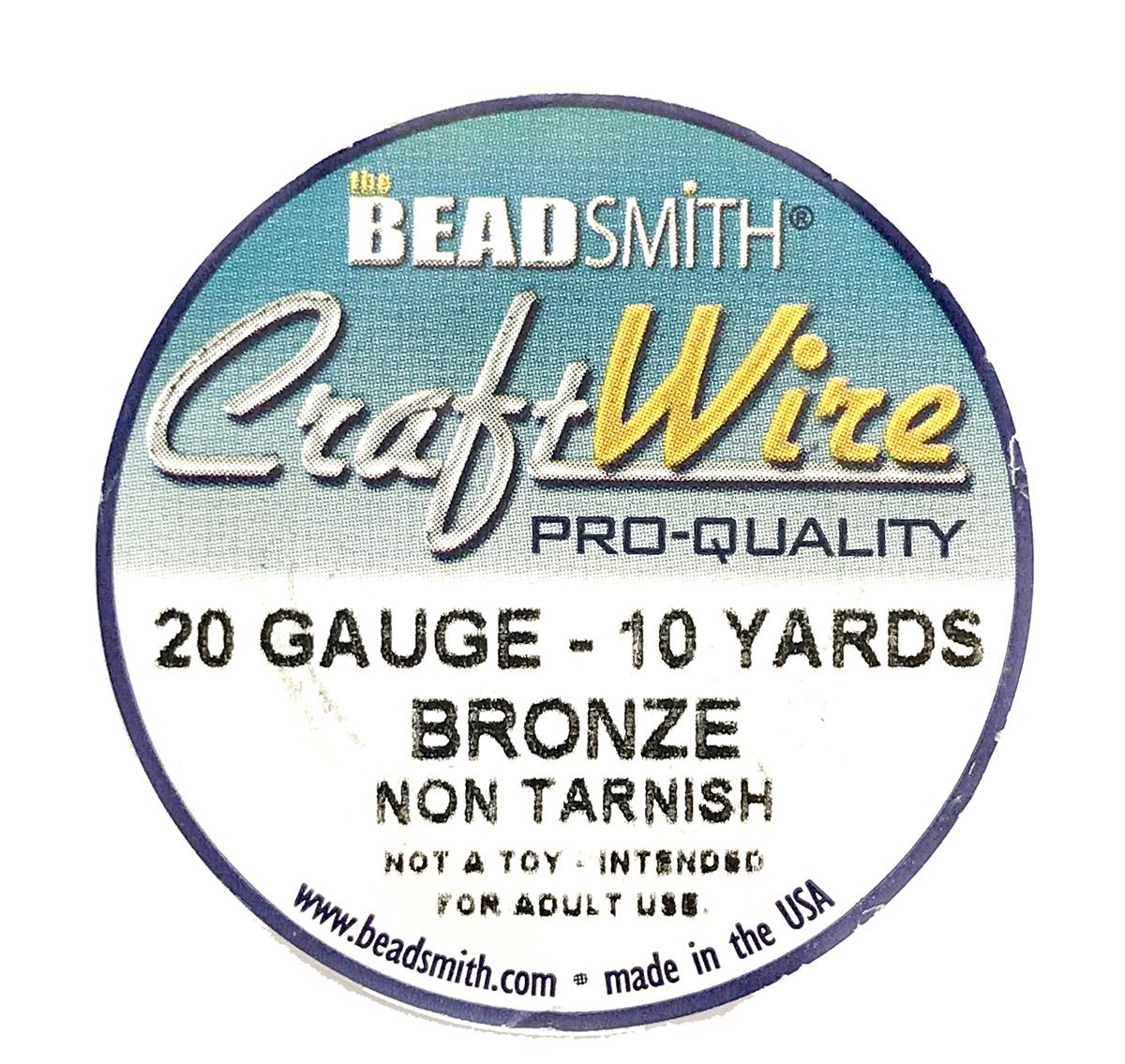 bronze wire, jewelry wire, bead smith, 20 gauge, bronze, wire, craft ...