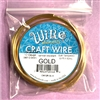 bead smith 12 gauge gold wire, smooth wire, wire, jewelry wire, gold wire, craft wire, 5 feet, 12 gauge wire, tarnish resistant, jewelry making, vintage supplies, jewelry supplies, soft tempered, 04521