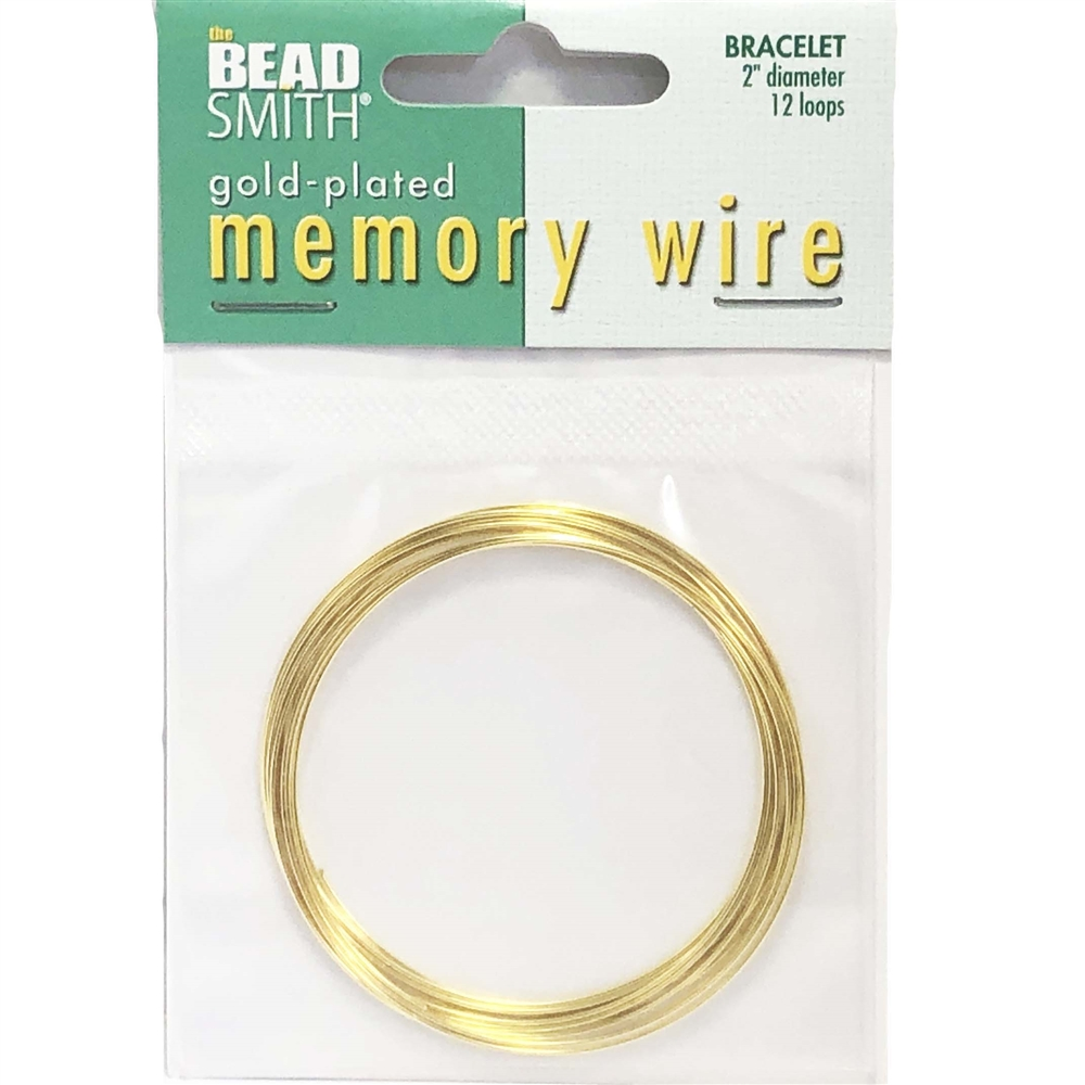 Round Memory Wire, Gold Plate, 047, bracelet making, wire bracelets, jewelry making supplies, bsueboutiques, gold plate wire, wire jewelry
