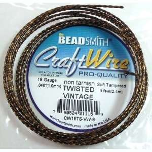 Bead Smith, 18 Gauge, Twisted Wire, Vintage