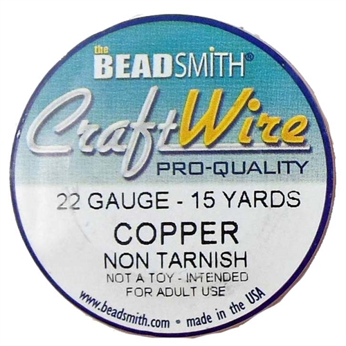 Bead Smith, 22 Gauge, Copper, Craft Wire