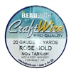 Bead Smith, 20 Gauge, Rose Gold, Craft Wire