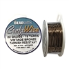 Bead Smith 22 Gauge Vintage Bronze Craft Wire