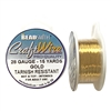 Bead Smith, 28 Gauge, Gold Craft Wire