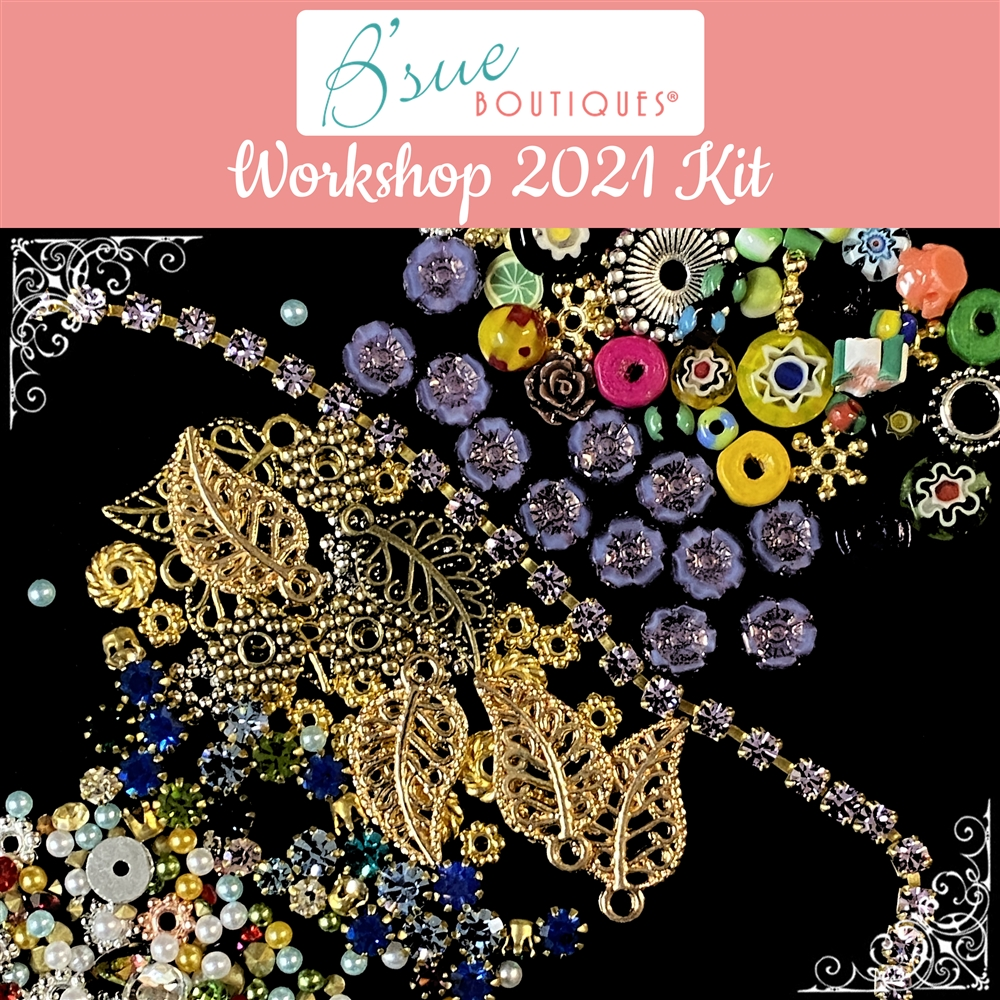 B'sue Boutiques Workshop Kit: Apoxie Sculpt & More