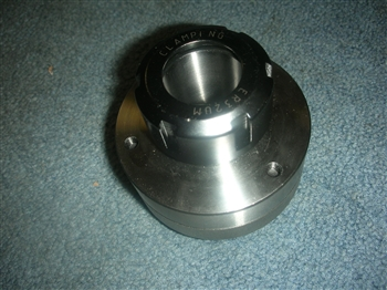 NEW ER 32 COLLET CHUCK 1 1/2-8 MOUNT+WRENCH USA MADE W/O COLLETS