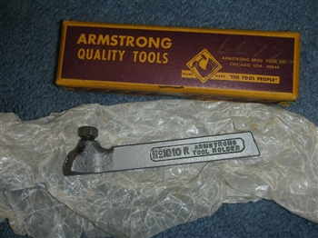 new old stock armstrong 1010r rh turning tool holder in. Black Bedroom Furniture Sets. Home Design Ideas