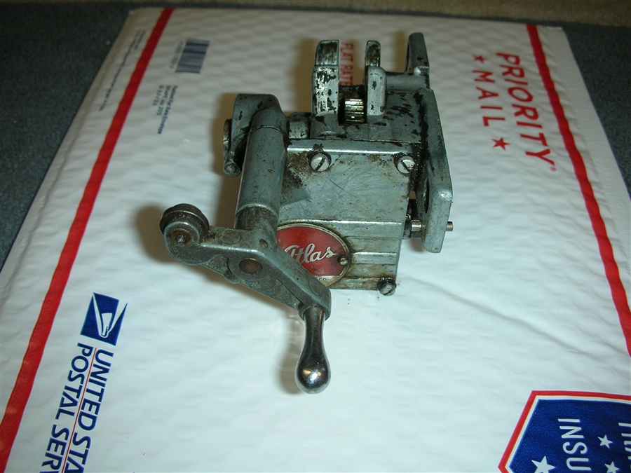 ATLAS MILLING MACHINE MF-1XC TABLE FEED GEARBOX