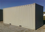 20' Cargo Container Wind & Water-Tight