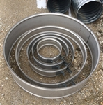"15"" Galvanized Culvert Pipe Band Narrow"