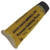 Ochre Polyester Glue Coloring Paste 1 Ounce Tube #F015108SNG