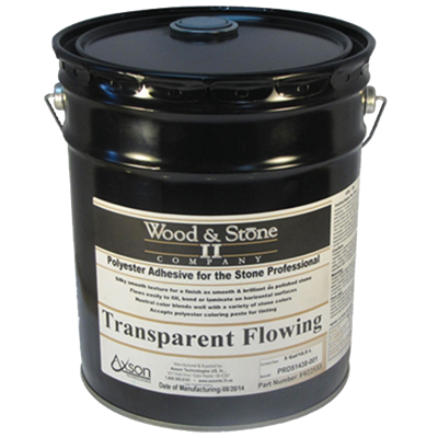 Transparent Flowing Glue 5 Gallon Pail