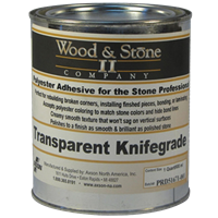 Wood & Stone II Transparent Knife Grade 1 Quart