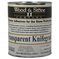 1 Gallon Transparent Knife Grade Adhesive