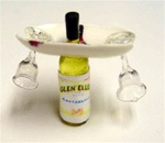 Wine Set 1 inch Miniature Scale