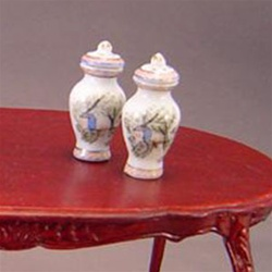 Miniature Egg Shell Porcelain Ginger Jar