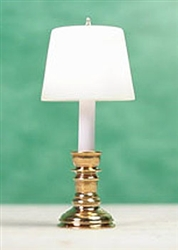 Brass Table Lamp half-inch scale Clare Bell Brass