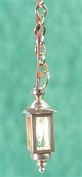 Brass Hanging Coach Lamp half-inch scale Clare Bell Brass