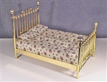 Fancy Double Brass Bed