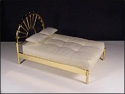 Double Brass Bed