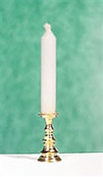 Spike Candlestick miniature scale Clare Bell Gold