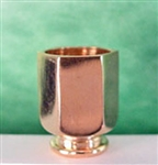 Gold Finish  Ice Bucket 1 inch scale Clare Bell Brass