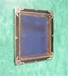 Miniature Brass Square Mirror Clare Bell Brass