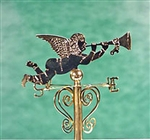Gabriel Weathervane miniatures by Clare Bell Brass