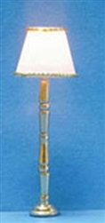 Gold Base Table Lamp or 1/2 scale floor lamp