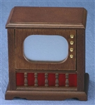 TV Floor Model Walnut