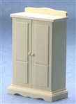 8624- Wardrobe unfinished 1 inch scale