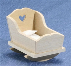 8665- Cradle unfinished 1 inch scale