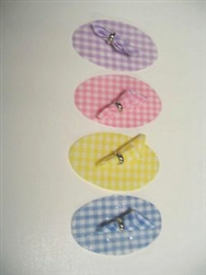Pastel Check Miniature Placemats