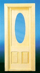 Victorian Oval Glass Door 1 inch Scale 70137