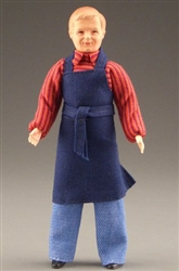 0805 Man in apron Caco Miniature Doll