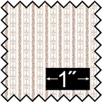 Duchess Stripe Pink Fabric -Brodnax Prints