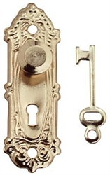 Opryland Doorhandle 1 inch scale by Houseworks
