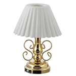 Table Lamp- Ornate Brass