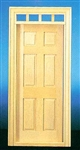 Traditional 6 Panel  Door 1 inch Scale 6000