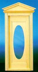 Victorian Oval Door 1 inch Scale 6002