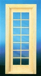 Single French Door 1 inch Scale 6022